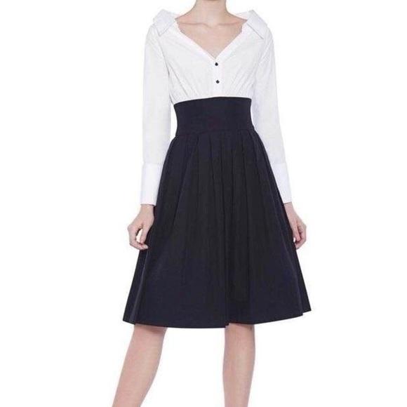 Alice Olivia Dresses Alice Olivia Black And White Dress Poshmark